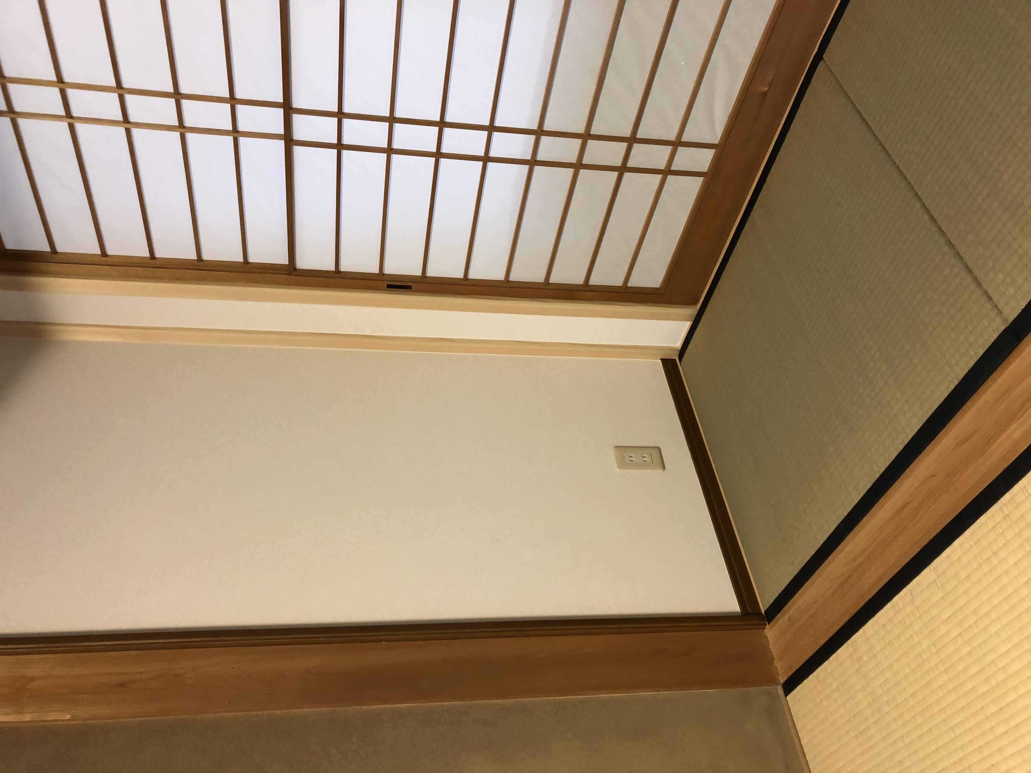 施工111.畳へ変更。の画像
