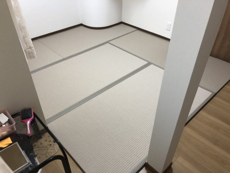 実績101.変形薄畳の画像