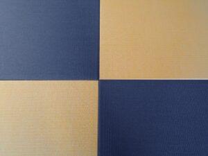 162.藍色×黄金色の画像
