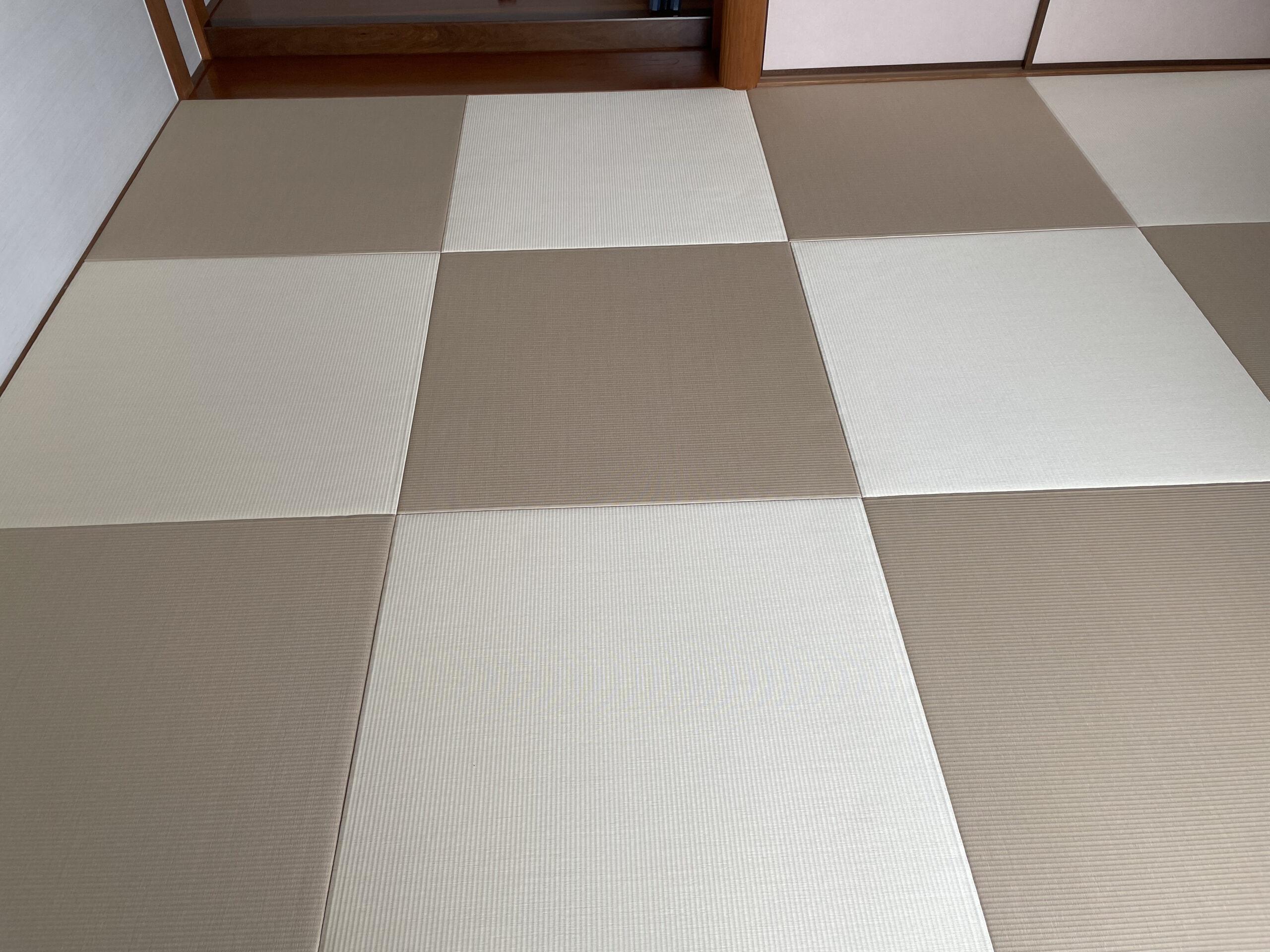 施工171.乳白色×白茶の画像